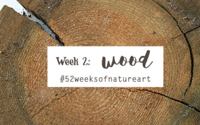 Week 2: Wood – Wrap up {52 Weeks of Nature Inspired Art}