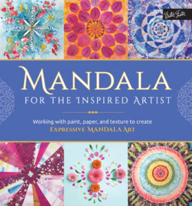Mandala for the inspired artist mixed media mandala