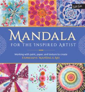 Mandala for the inspired artist mixed media mandala
