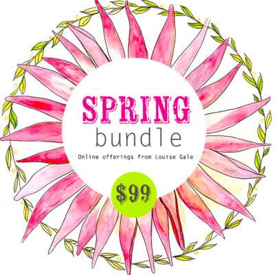 Spring classes bundled price