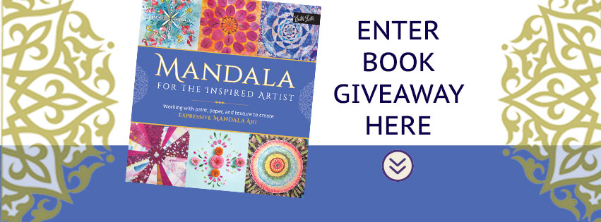 mandala for the inspired artist book giveaway