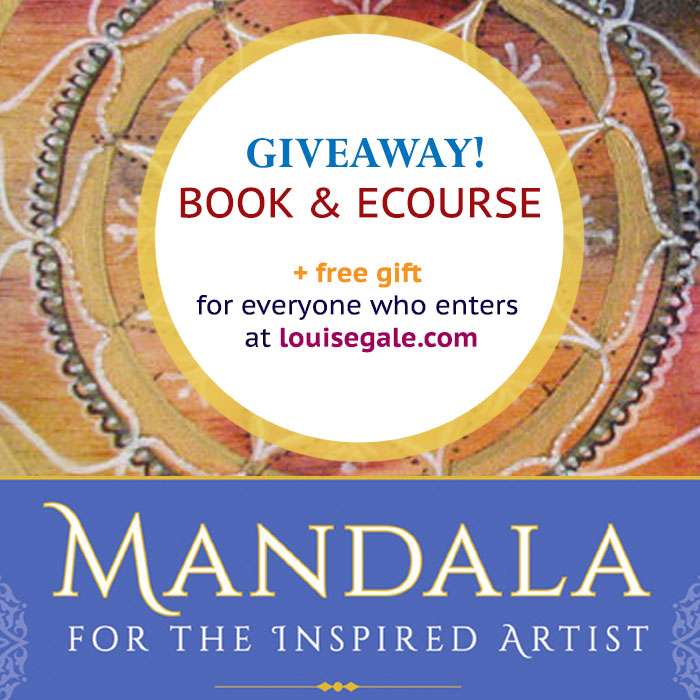 Mandala for the Inspired Artist book and ecourses Giveaway