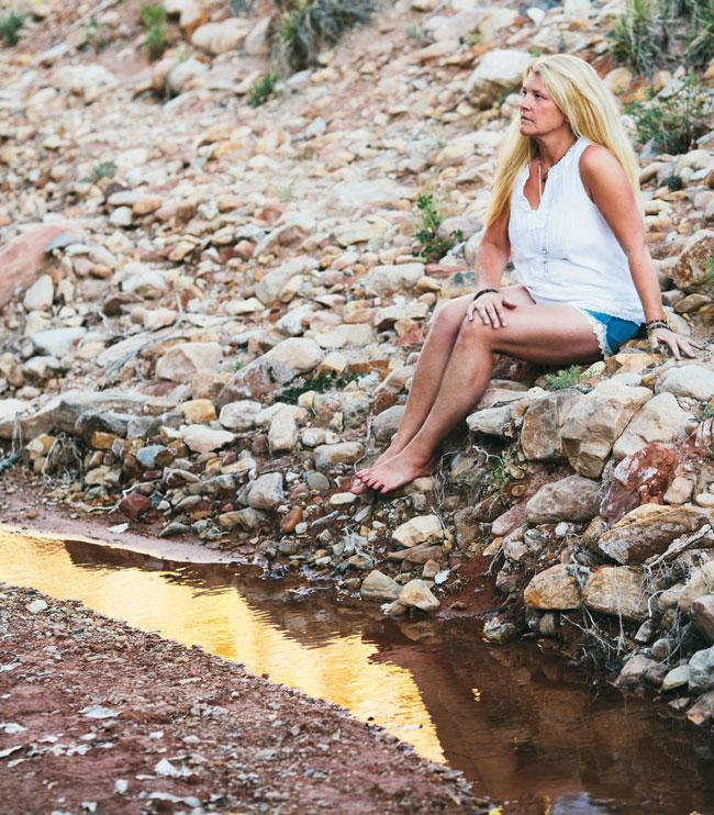Louise Gale Ghost Ranch - taken by A Global Walk