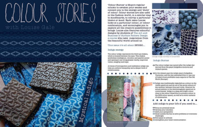 Published! Indigo Colour Stories in MOYO Magazine