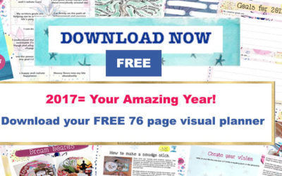 2017 = Your Amazing Year! and Free Visual Planner download