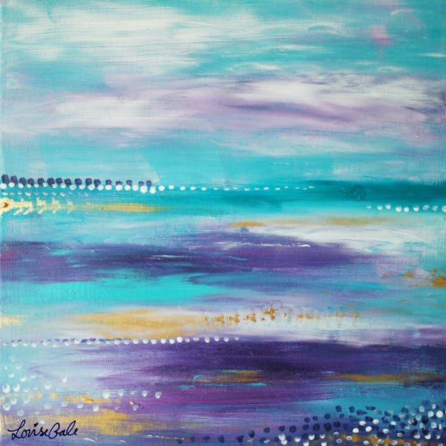 Enchanting Ocean Nature painting by Louise Gale