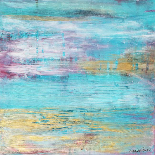 Quiet Water painting by Louise Gale