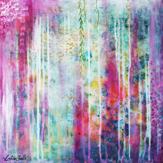 Secret Garden painting by Louise Gale