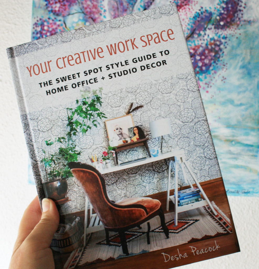 Your Creative Workspace book by Desha Peacock