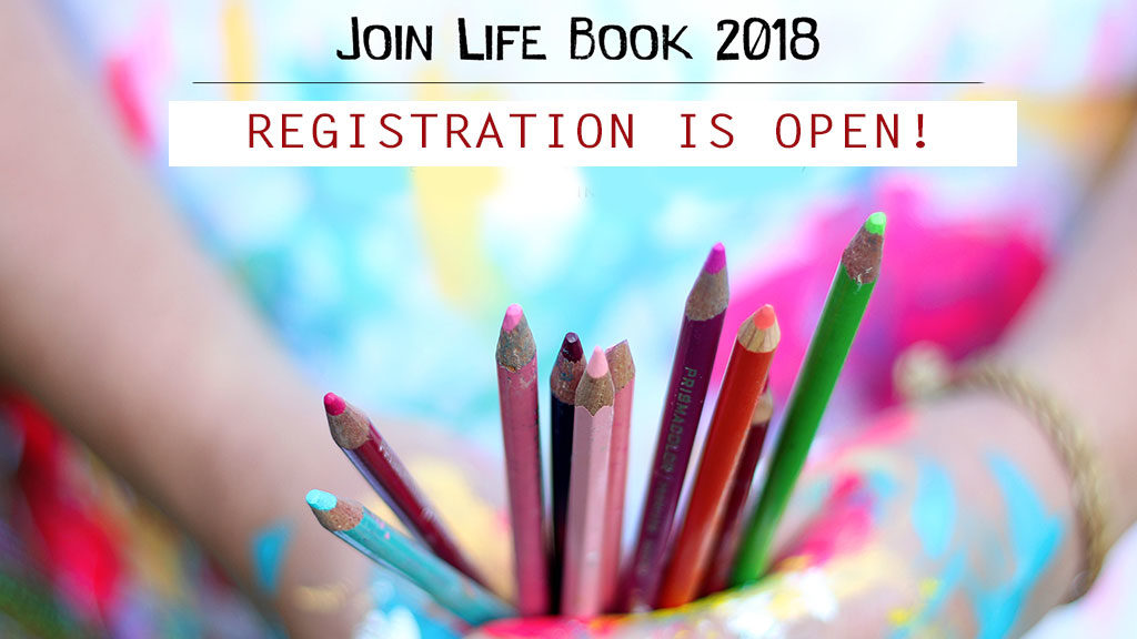 Registration is OPEN for Life Book 2018 {+ giveaway winners announced}