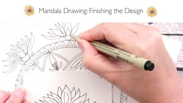 new class create a botanical mandala