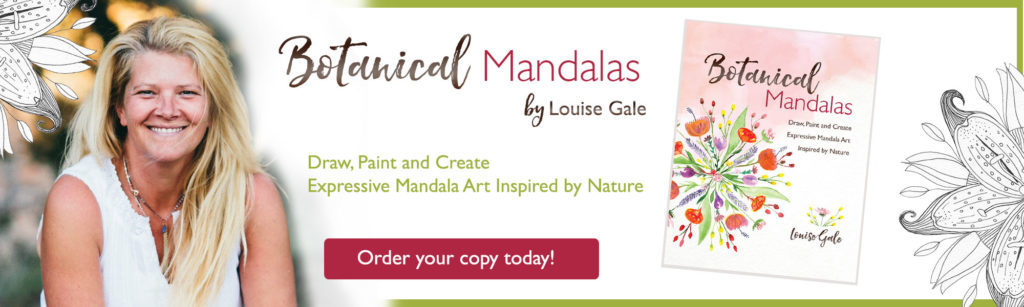 Botanical Mandalas Book by Louise Gale