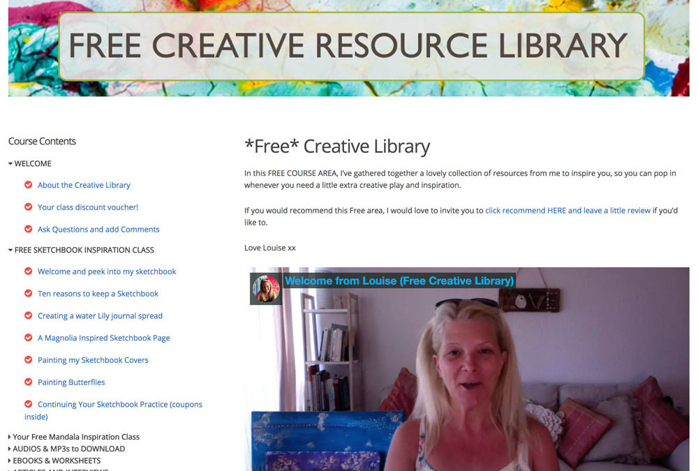Your FREE Creative Learning Portal is LIVE!