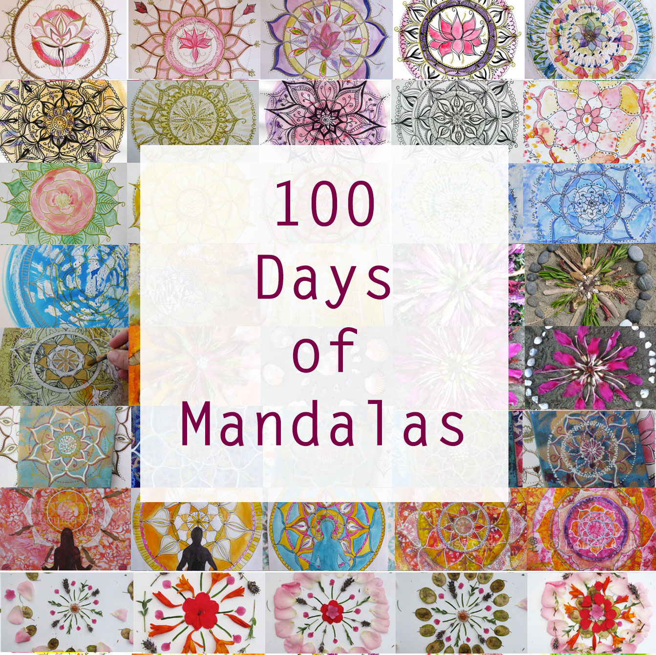 100 Days of Mandalas with Louise Gale
