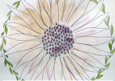 100 days of mandalas Day 10 Louise Gale