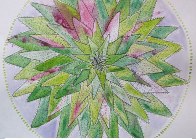 100 days of mandalas Day 11 Louise Gale