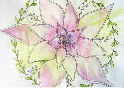 100 days of mandalas Day 12 Louise Gale