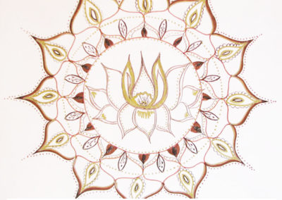 100 days of mandalas Day 15 Louise Gale
