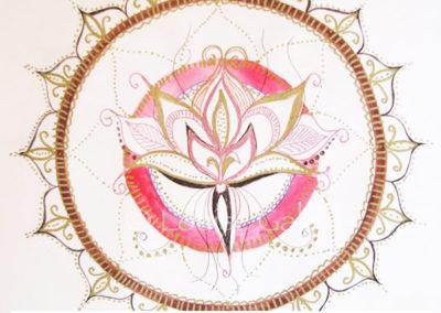 100 days of mandalas Day 16 Louise Gale
