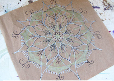 100 days of mandalas Day 4 Louise Gale