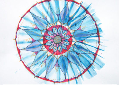 100 days of mandalas Day 9 Louise Gale