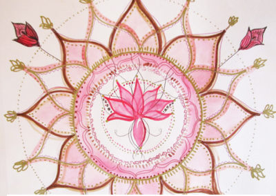 100 days of mandalas Day 17 Louise Gale