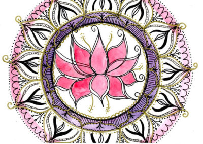 100 days of mandalas Day 19 Louise Gale