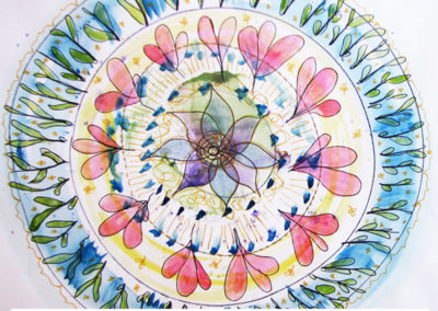 100 days of mandalas Day 20 Louise Gale
