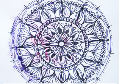 100 days of mandalas Day 22 Louise Gale