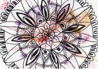 100 days of mandalas Day 23 Louise Gale