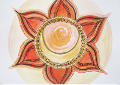 100 days of mandalas Day 29 Louise Gale