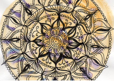 100 days of mandalas Day 30 Louise Gale