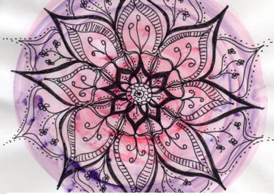 100 days of mandalas Day 32 Louise Gale