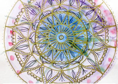 100 days of mandalas Day 33 Louise Gale