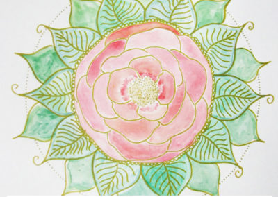 100 days of mandalas Day 34 Louise Gale