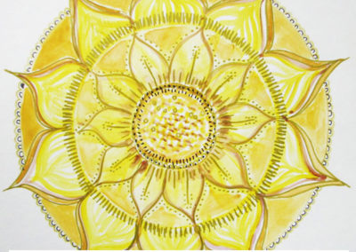100 days of mandalas Day 35 Louise Gale