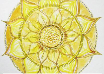 100 days of mandalas Day 35 Louise Gale