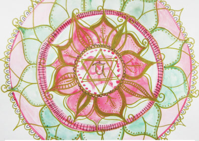 100 days of mandalas Day 36 Louise Gale
