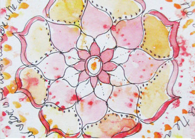 100 days of mandalas Day 38 Louise Gale