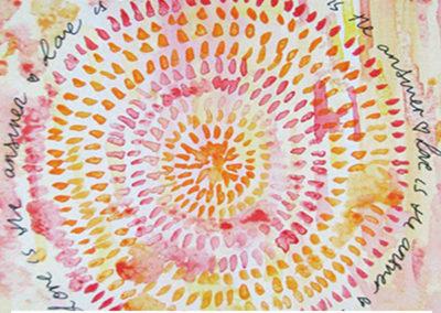 100 days of mandalas Day 39 Louise Gale