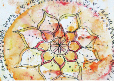100 days of mandalas Day 40 Louise Gale