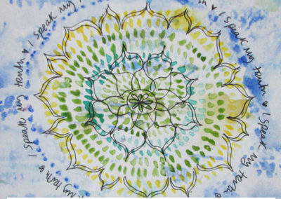 100 days of mandalas Day 41 Louise Gale