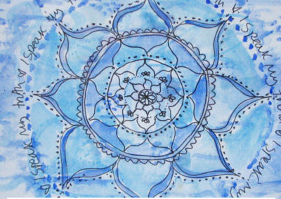 100 days of mandalas Day 42 Louise Gale