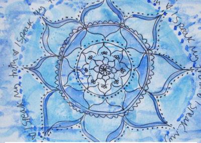 100 days of mandalas Day 42 Louise Gale