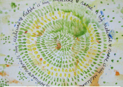 100 days of mandalas Day 44 Louise Gale