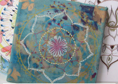 100 days of mandalas Louise Gale