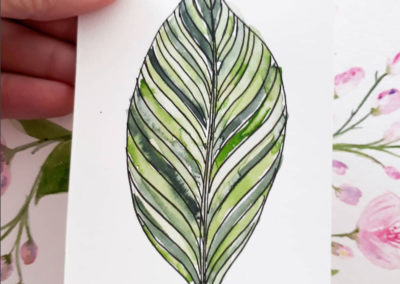 100 Days of Botanical Motifs with Louise Gale