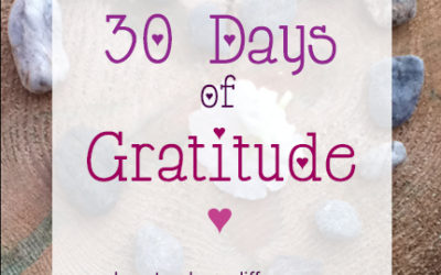 Day 1: Start your practice #30daysofgratitude