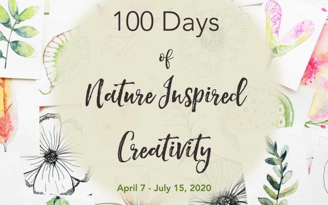 100 Days of Nature Inspired Creativity