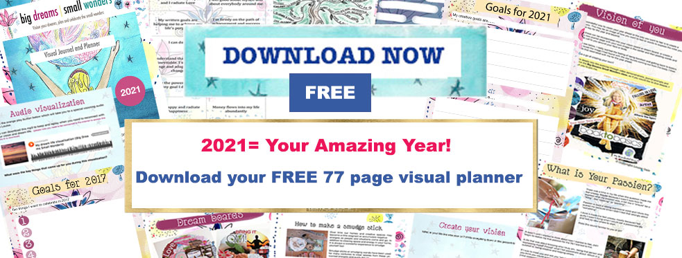 It's here! Your 2021 Big Dreams, Small Wonders Workbook and Planner